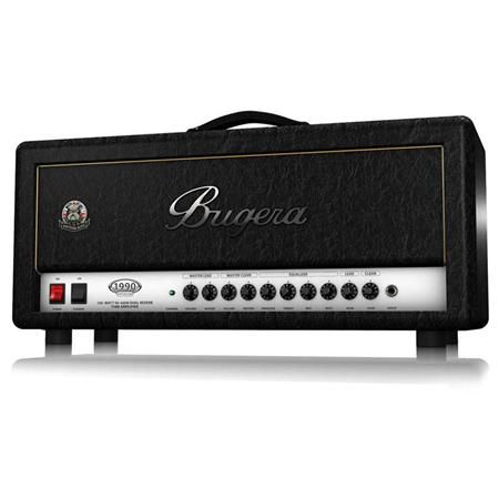 Bugera 1990 INFINIUM British Bite 120W Tube Amplifier Head with Reverb and INFINIUM Tube Life Multiplier by N/A