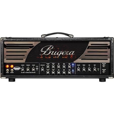 Bugera 333XL Infinium Hardcore 120W 3-Channel Tube Amplifier Head with Reverb and Infinium Tube Life Multiplier by N/A