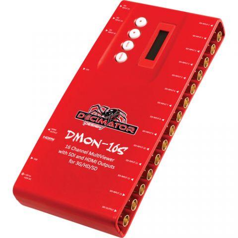 DECIMATOR DMON-16S 16-Channel Multi-Viewer with SDI & HDMI Outputs by Decimator