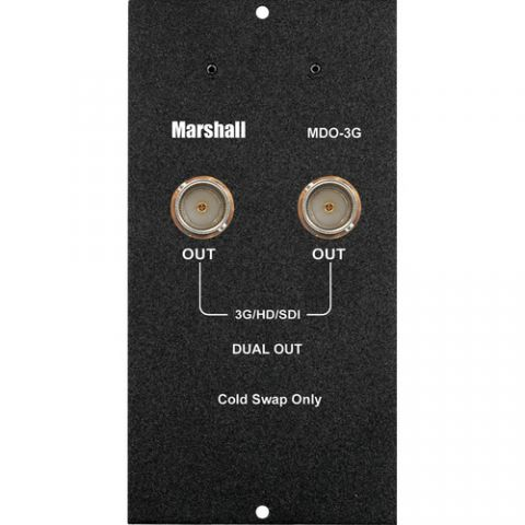 Marshall Electronics Dual Output 3GSDI Module For MD Camera Top Monitors by Marshall Electronics
