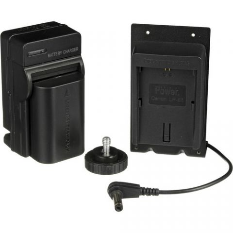 Marshall Electronics DSLR Battery Adapter Kit for V-LCD50 On-camera Monitor (Canon LP-E6 / 7.2V Compatible Battery) by Marshall Electronics