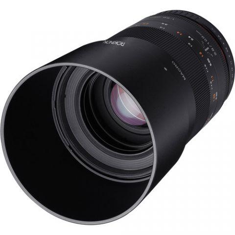 Rokinon 100mm f/2.8 Macro Lens for Nikon F by Rokinon