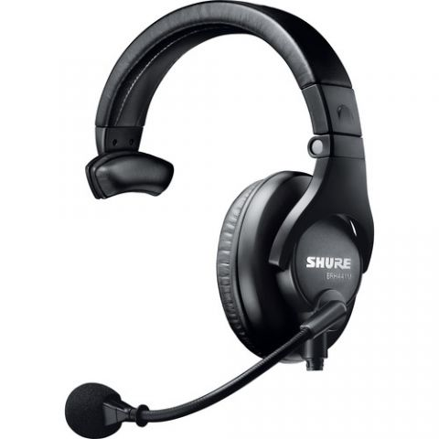 Shure Single-Sided Broadcast Headset by Shure