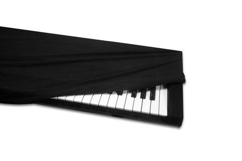 Hosa Technology KBC-176 Keyboard Cover, 61-76 key, Black by Hosa Technology