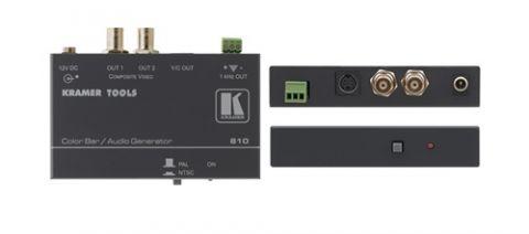 Kramer 810 Color Bar Generator - Audio Tone, PAL, NTSC by Kramer
