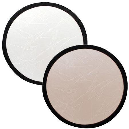 "Lastolite 12"" Circular Collapsable Disc Reflector, Sunfire / White by Lastolite"