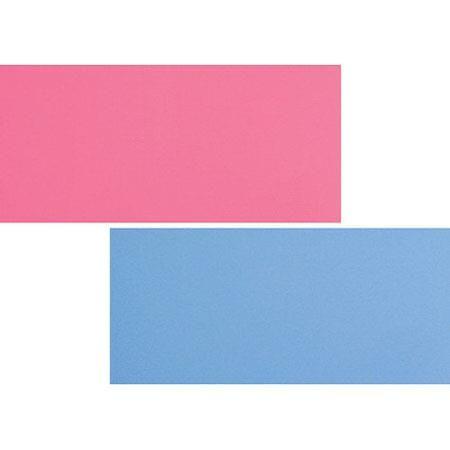 Lastolite 1.8x2.15m (6x7') Plain Collapsible Background, Blue/Pink by Lastolite