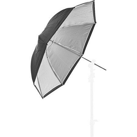"Lastolite 28""/72cm Dual Duty Umbrella, Black/White by Lastolite"