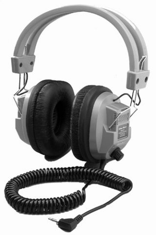 Dynamic Headphone with Volume Control by N/A