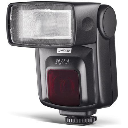 Metz 36 AF-5 i-TTL Flash for Nikon/Fujifilm Digital Cameras, Guide Number 118' at the 85mm Setting by Metz
