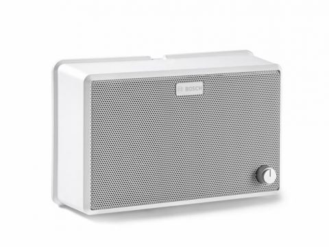 ABS cabinet loudspeaker 6 W with VC by Bosch