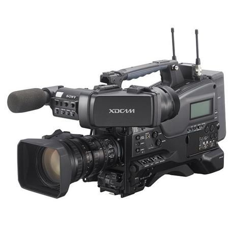 Sony PXW-X320 XDCAM 1080p Solid State Memory Camcorder with Fujinon 16x Servo Zoom Lens by Sony