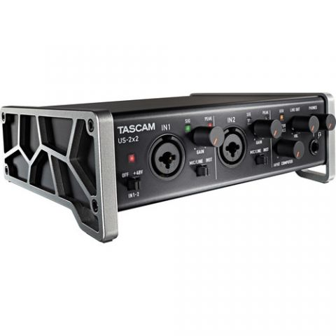 Tascam US-2x2 2-Channel USB Audio Interface by Tascam