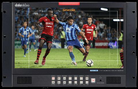 "Datavideo TLM-170LR 17.3"" 3G-SDI FULL HD LCD Monitor - 7U Rackmount Unit by Datavideo"
