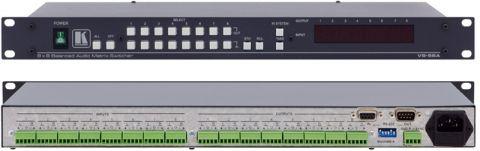 Kramer VS-88A 8x8 Balanced Stereo Audio Matrix Switcher by Kramer