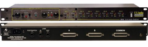 Whirlwind AB-8 8-Channel Mic/Line Switcher by Whirlwind