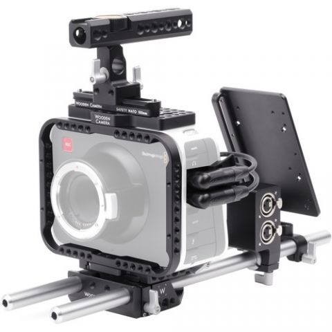 Wooden Camera - Blackmagic Cinema Camera Accessory Kit (Advanced) by Wooden Camera