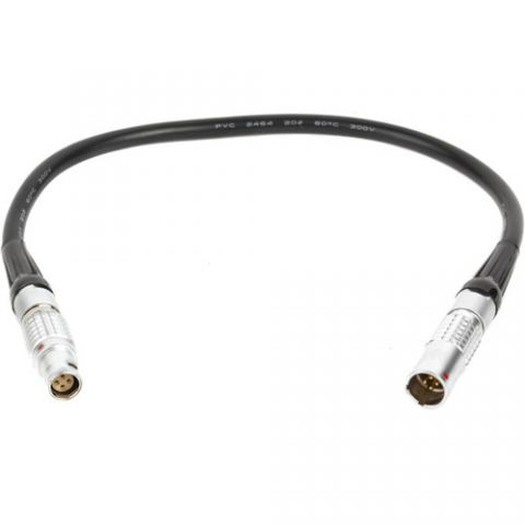 """Alterna Cables - Canon C200, C200B, C300mkII Power Extension (Straight, 12"""") by Wooden Camera"""