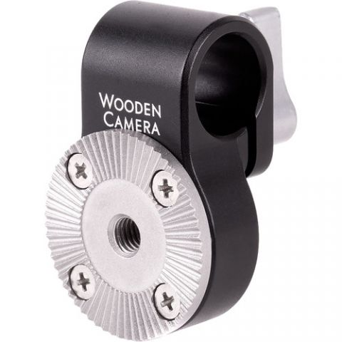 Wooden Camera - 15mm Rod Clamp to ARRI Rosette by Wooden Camera