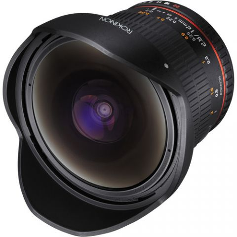 Rokinon 12mm f/2.8 ED AS IF NCS UMC Fisheye Lens for Nikon F Mount with AE Chip  by Rokinon