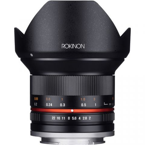 Rokinon 12mm f/2.0 NCS CS Lens for Micro Four Thirds Mount (Black)  by Rokinon