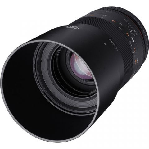 Rokinon 100mm f/2.8 Macro Lens for Micro Four Thirds  by Rokinon
