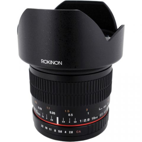Rokinon 10mm f/2.8 ED AS NCS CS Lens for Fujifilm X Mount  by Rokinon
