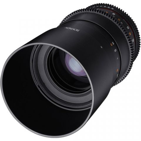Rokinon 100mm T3.1 Macro Cine DS Lens for Canon EF Mount  by Rokinon