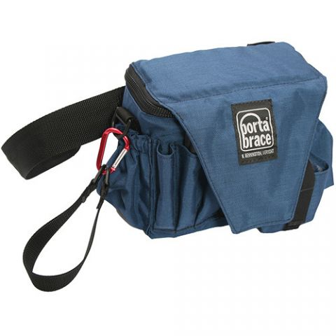 Porta Brace ACB-3 Assistant Camera Pouch with Belt (Large, Signature Blue)  by Porta Brace