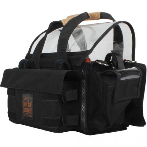 Porta Brace AO-1XBH Audio Organizer with AH-2H Harness Kit (Black)  by Porta Brace