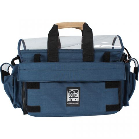 Porta Brace AO-2X Audio Organizer Case (Signature Blue)  by Porta Brace