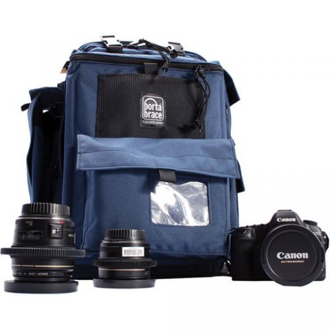 Porta Brace BC-1N Backpack Camera Case (Signature Blue)  by Porta Brace