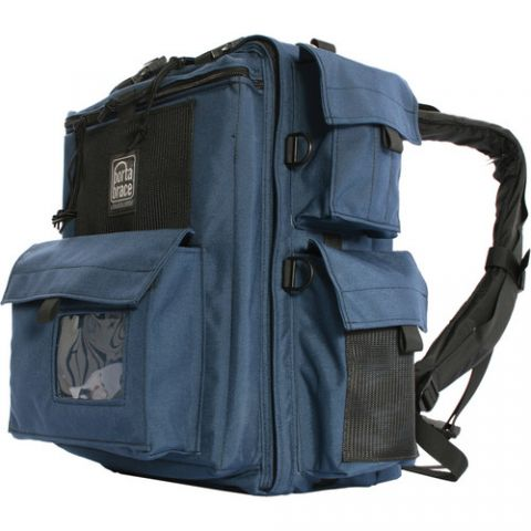 Porta Brace BK-1NQS-M3 Rigid-Frame Backpack with Quick Slick Mini by Porta Brace