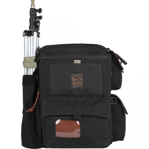 Porta Brace BK-1NRQS-M4 Rigid-Frame Backpack with Quick Slick Mini by Porta Brace