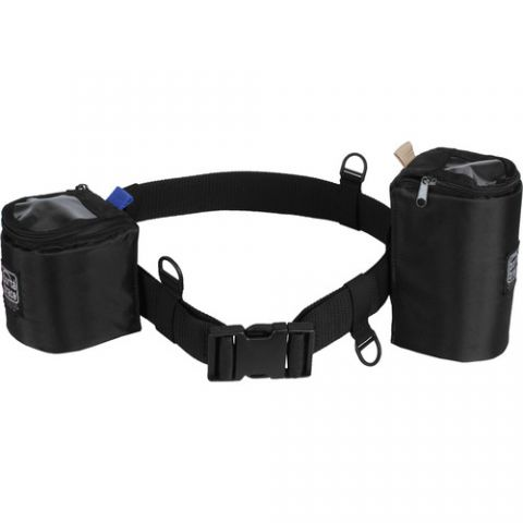 Porta Brace BP-LB47 Waist Belt with 2 Lens Cups (Black)  by Porta Brace