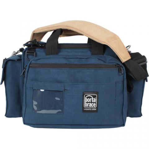Porta Brace CAR-1 Cargo Case - for Mini DV Camcorder with Accessories (Blue)  by Porta Brace
