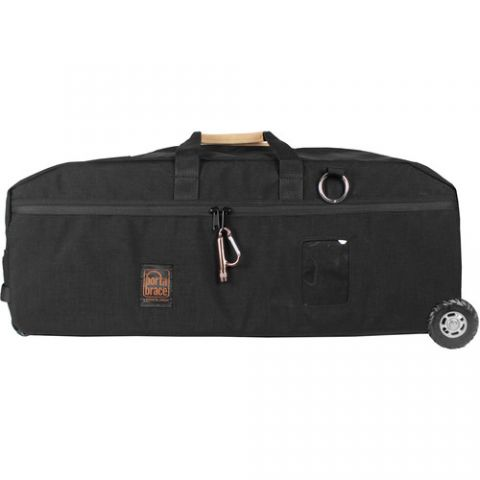 Porta Brace LR-3BGLCCOR Soft Cordura® carrying case with off-road wheels for Glidecam and camera by Porta Brace