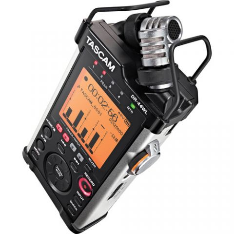 Tascam  DR-44WL Portable Handheld Recorder with Wi-Fi   by Tascam