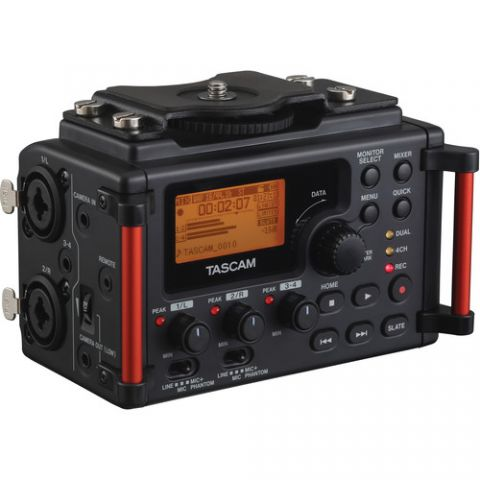 Tascam  DR-60DmkII 4-Channel Portable Recorder for DSLR   by Tascam