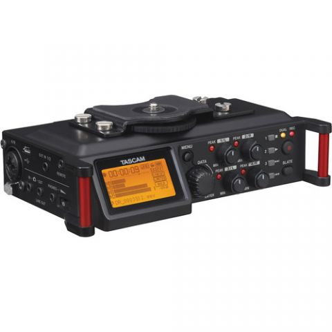 Tascam  DR-70D 4-Channel Audio Recording Device for DSLR and Video Cameras   by Tascam
