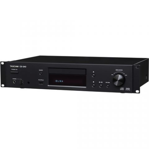 Tascam  CD-240 CD and Network Audio Player   by Tascam