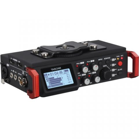 Tascam  DR-701D 6-Track Field Recorder for DSLR with SMPTE Timecode   by Tascam