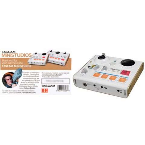 Tascam  MiNiSTUDIO Personal US-32 Audio Interface for Online Broadcasts   by Tascam