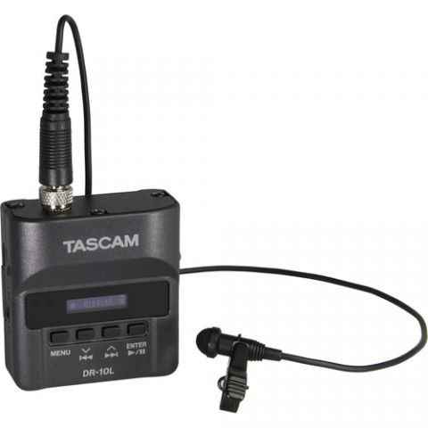 Tascam  DR-10L Digital Audio Recorder with Lavalier Mic   by Tascam