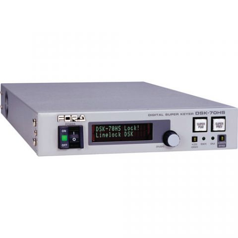 For.A  DSK-70HS HD/SD Digital Super Keyer   by For.A