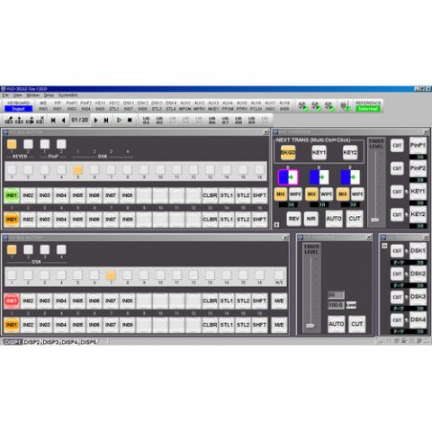 For.A  HVS-35GUI Remote Control Software   by For.A
