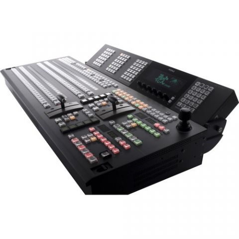 For.A  HVS-4000HSA 3M/E Digital Video Switcher with HVS-3244OU 32-Button Control Panel   by For.A