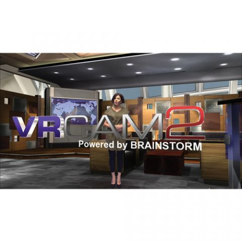 For.A  VRCAM2 Sensor-Less Virtual Studio System   by For.A