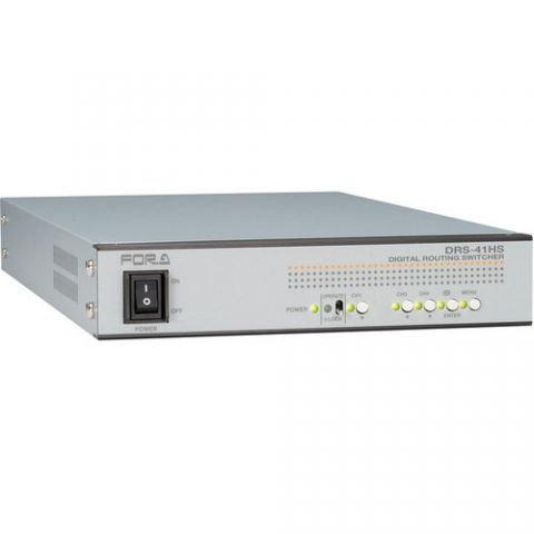 For.A  DRS-41HS HD/SD Routing Switcher   by For.A