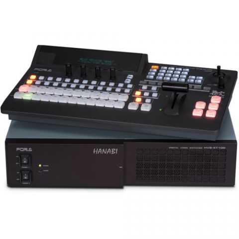 For.A  HVS-100 HD/SD Portable Video Switcher with HVS-100OU Control Panel   by For.A
